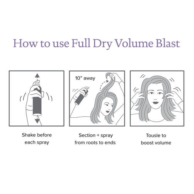 Dry Volume Blast™ Holiday Set, , hi-res-alt
