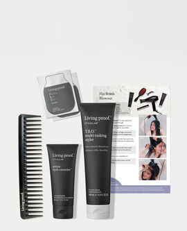 Style Lab® Flat Brush Blowout Kit