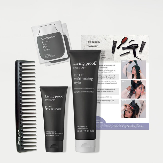 Flat Brush Blowout Kit, , hi-res