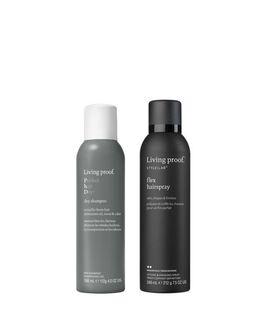 Dry Shampoo and Flex Hairspray Perfect Pair