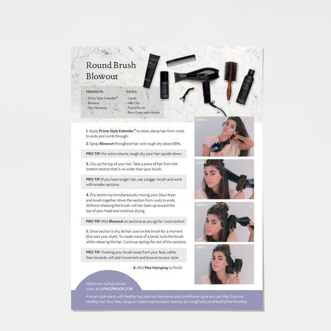 Round Brush Blowout Kit, , hi-res