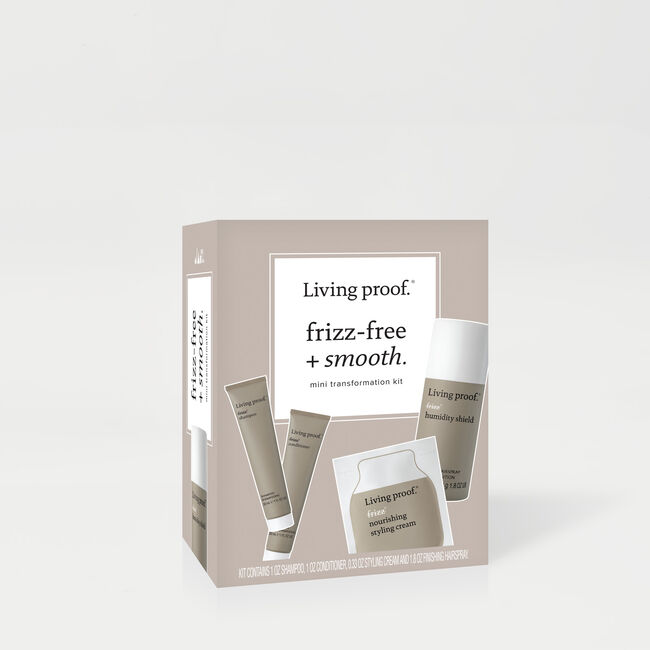 Frizz Free + Smooth Mini Transformation Kit, , hi-res