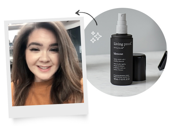 Molly's at home blowout tips
