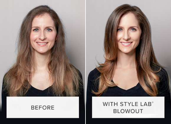 Blowout Before and After