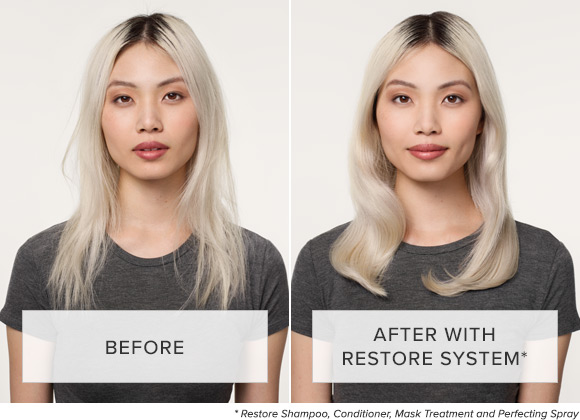 Before and After using Restore System