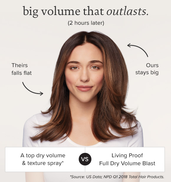 Big Volume That Outlasts.