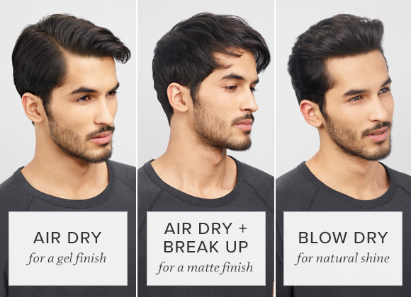 Airdry and Blowdry Styles