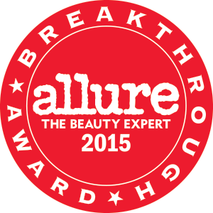 2015 Allure Best of Beauty Breakthrough Award