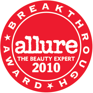 2010 Allure Best of Beauty Breakthrough Award